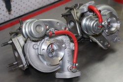 Toyota Supra Twin Turbo CT12A Turbochargers