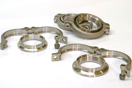 304L Stainless Steel Flanges & Clamps